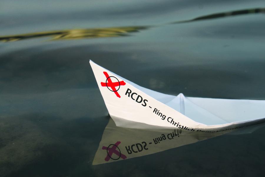Zu früh gefreut: Die Grundverordnung der Universität hat das RCDS-Schiff noch nachträglich zum Kentern gebracht. Foto: Johanna Mitzschke