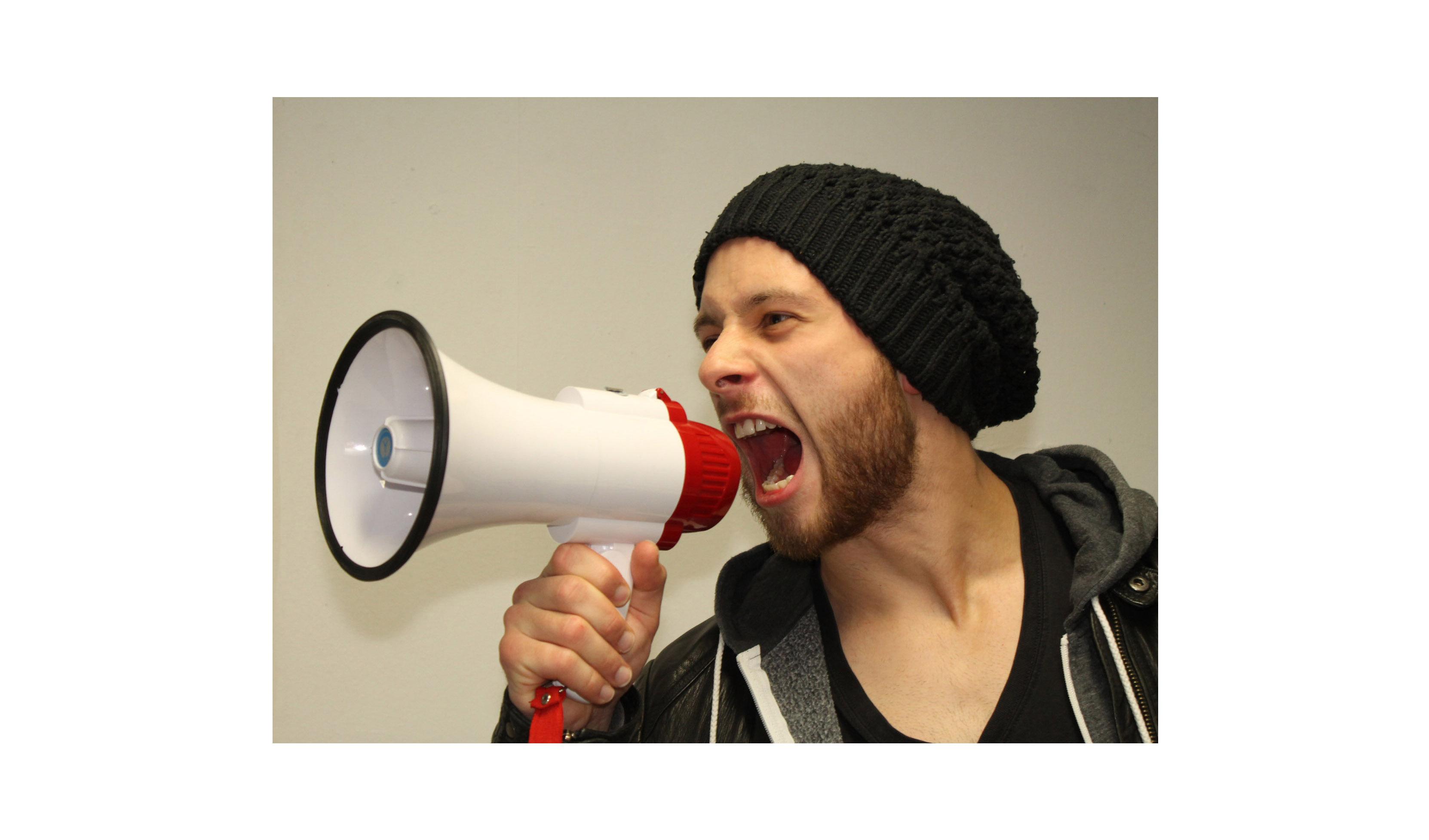 Spitzenkandidat Lorenz Scholtis: Eine laute Stimme für die Studierendenschaft!