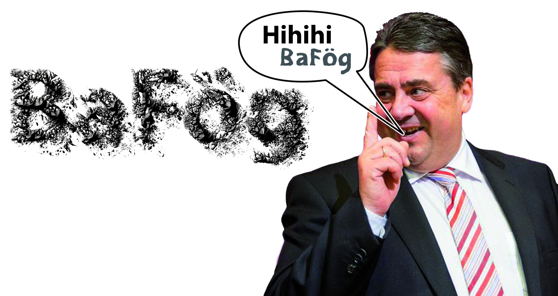 Für Sigmar Gabriel ist das BAFöG offenbar kein Teil sozialdemokratischer Politik. Foto: fwe