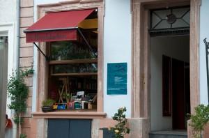 Eingang zum Artes Liberales am Kornmarkt