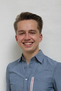 Adrian Koslowski von der Fachschaftsinitiative Jura