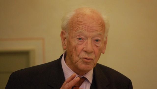Soziologe M. Rainer Lepsius. Bild: Aleksander Lucas