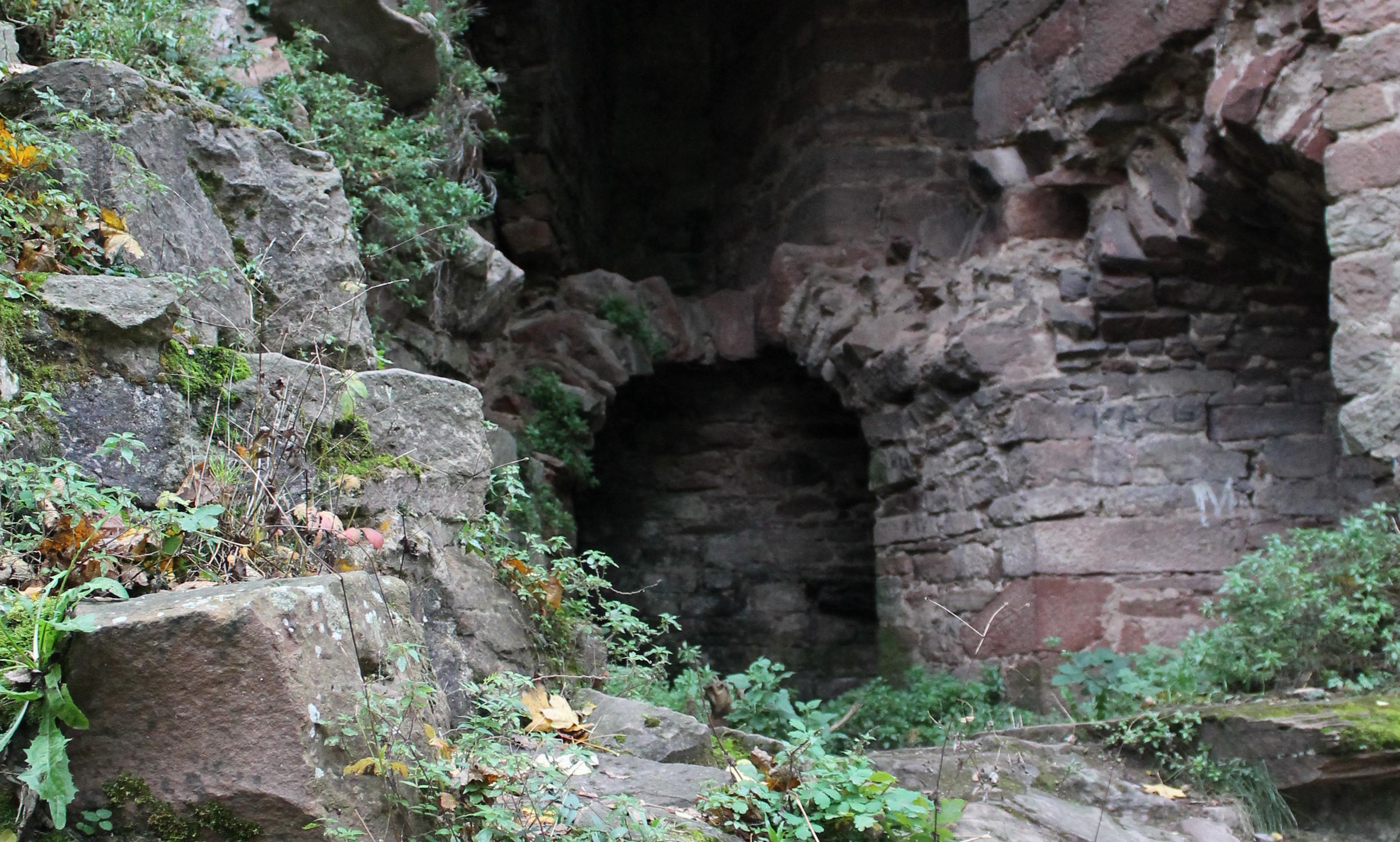 Ein Eingang in die Heidelberger Unterwelt? Bild: Philipp Köhnlein