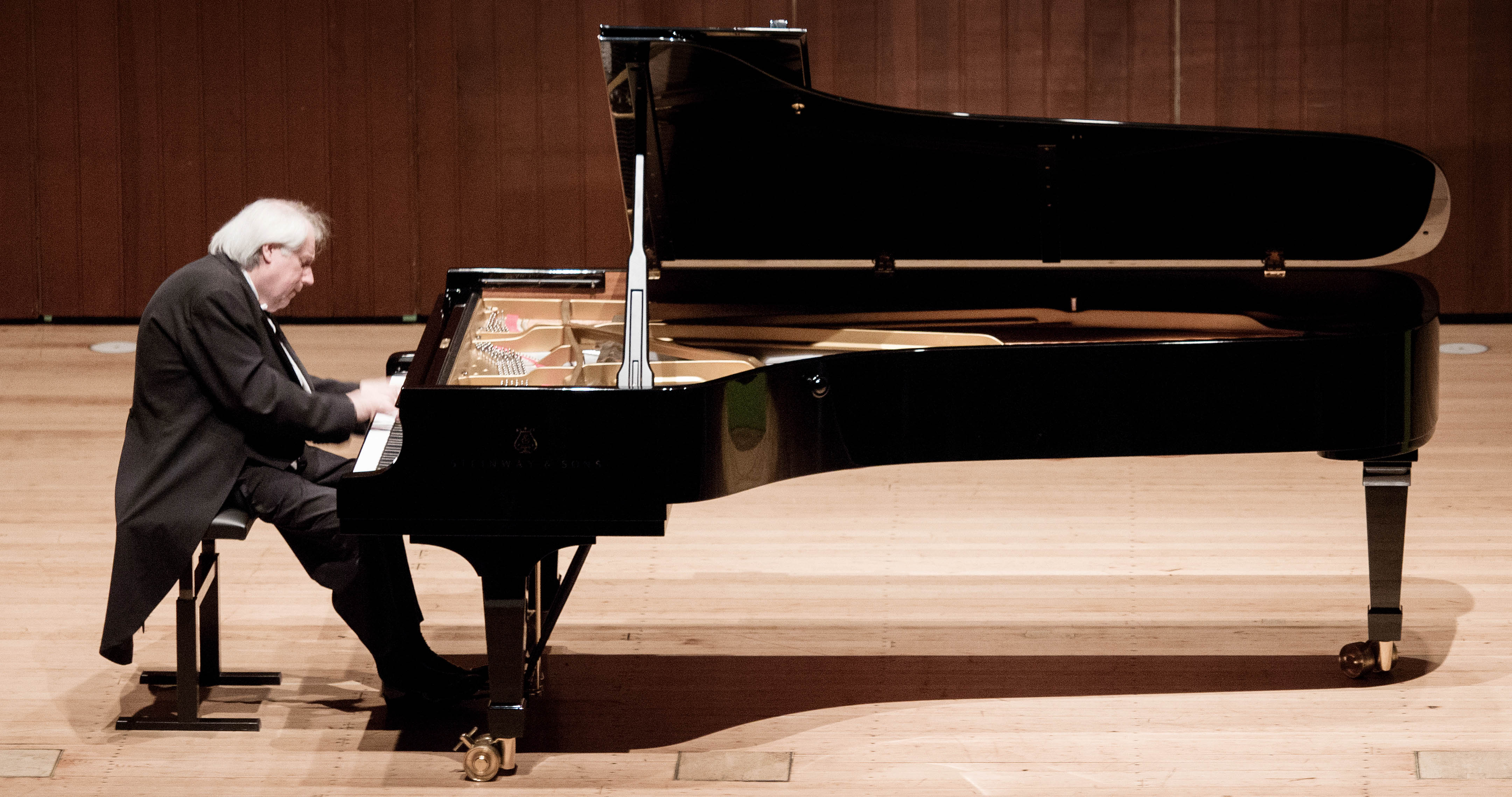 Der Pianist Grigory Sokolov. Bild: studio visuell photography.