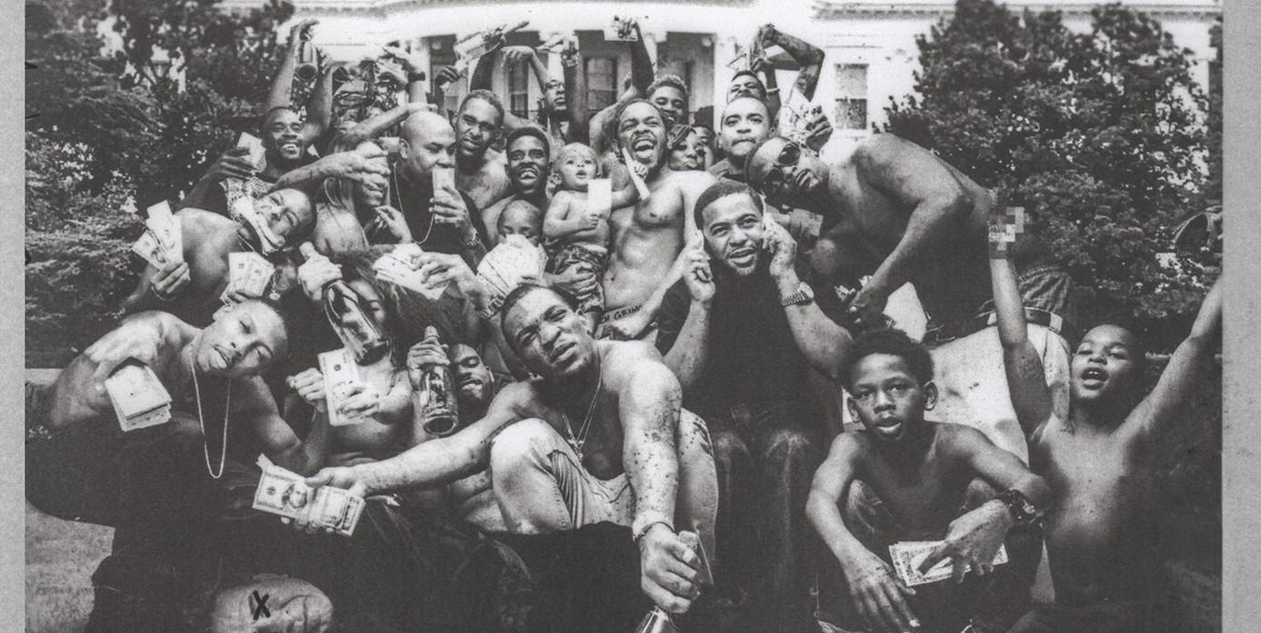 """Das neue Album von Kendrick Lamar heißt """"To Pimp A Butterfly"""". Bild: obs/Universal International Division/Universal Music"""