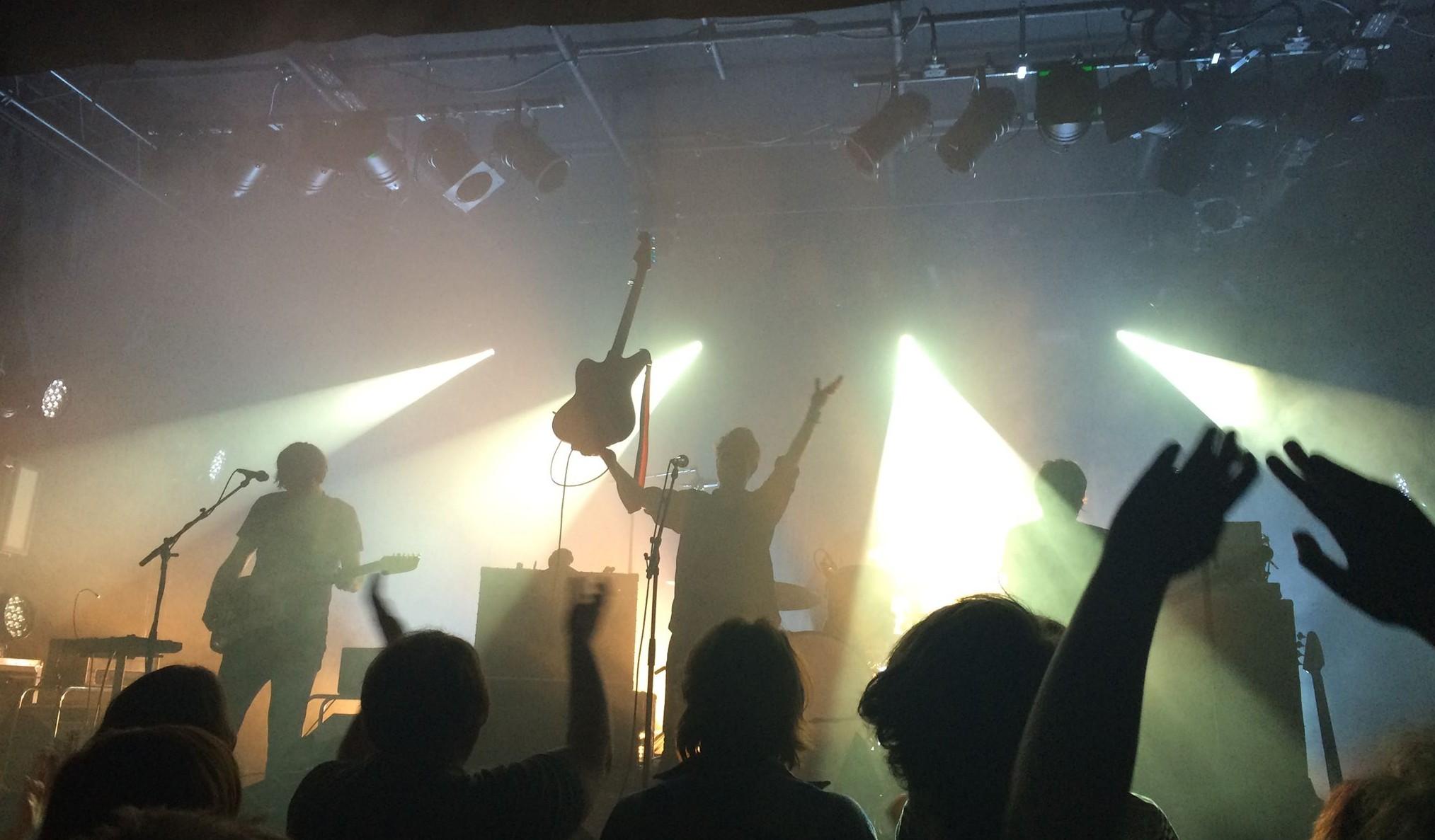 Tocotronic live in der Alten Feuerwache Mannheim. Bild: Dorina Marlen Heller