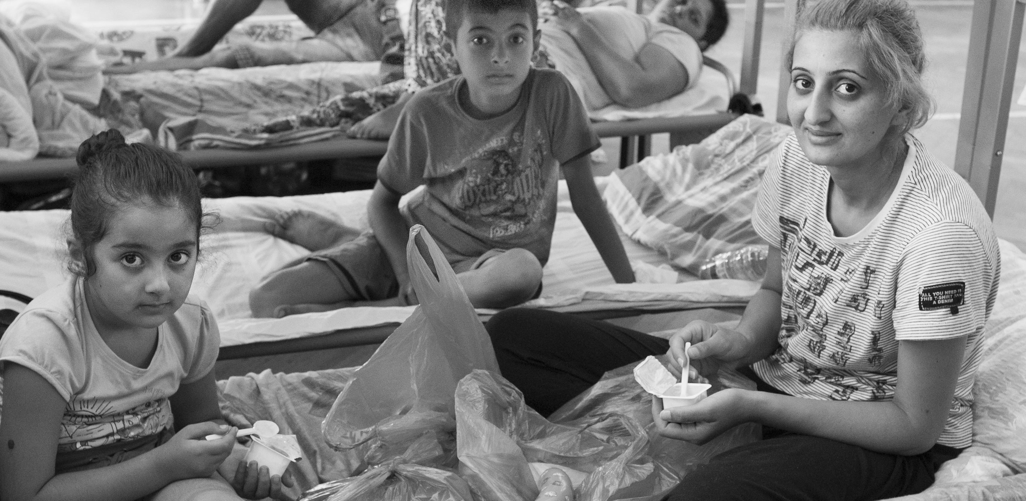 Lebenswirklich in Schwarz-Weiß: die Bilder aus dem PHV waren bis vor kurzem in einer Ausstellung in heidelberg zu sehen. Bilder: Udo Lahm