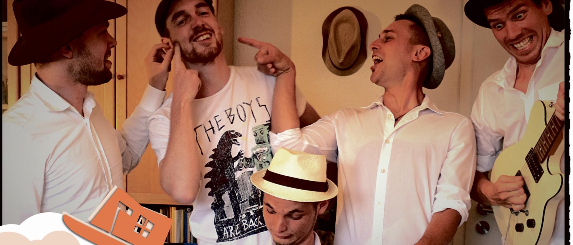 Fünf Hüte machen Musik