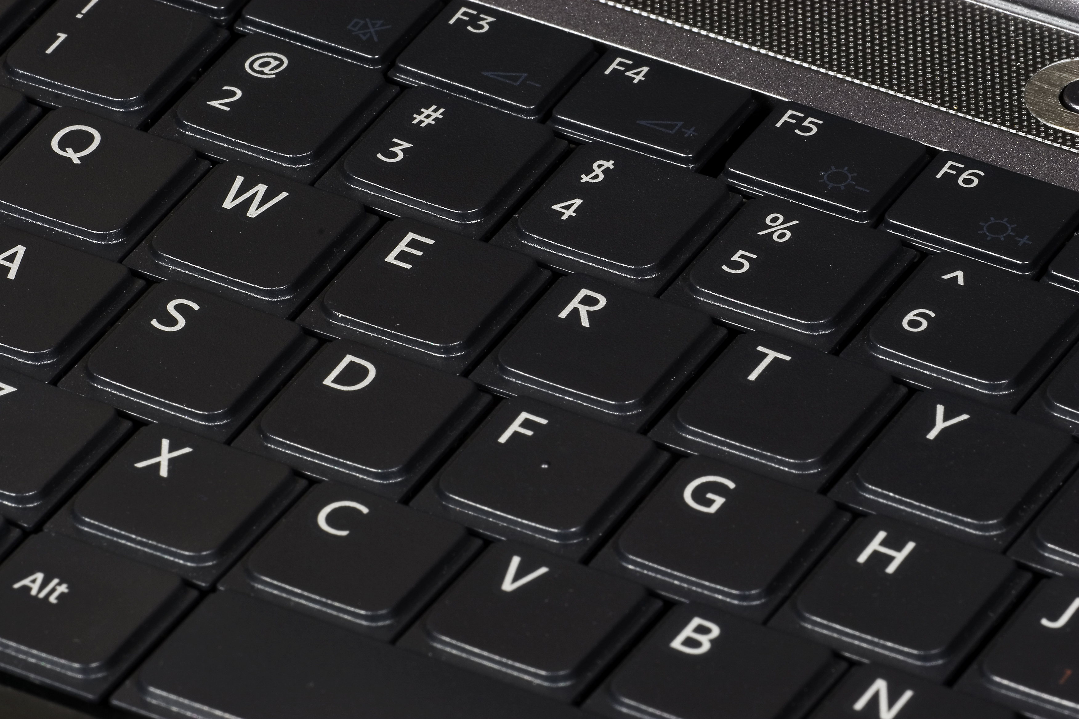 Foto: Wikimedia Commons/MichaelMaggs (http://commons.wikimedia.org/wiki/File:QWERTY_keyboard.jpg#/media/File:QWERTY_keyboard.jpg) Lizenz: CC-BY-SA-3.0 (http://creativecommons.org/licenses/by-sa/3.0/)
