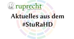 Neues aus dem #StuRaHD – Finanzreferentin gewählt