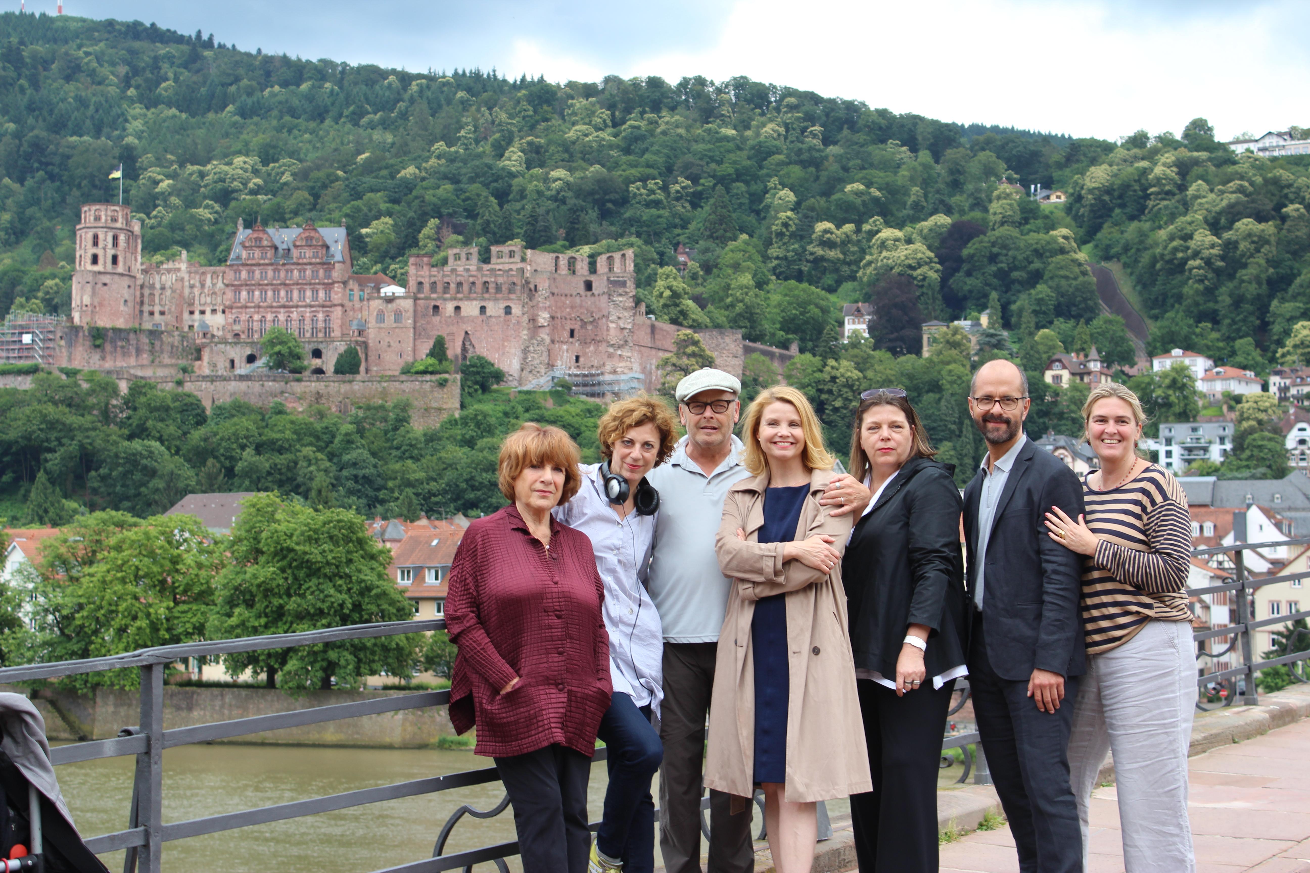 """Die Crew von Hotel Heidelberg wird zukünftig von Anette Frier angeführt, die die Heidelberger """"Burg"""" liebt. Fotos: Hannah Lena Puschnig."""