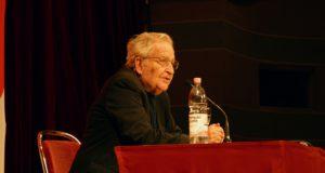 Noam Chomsky in Heidelberg