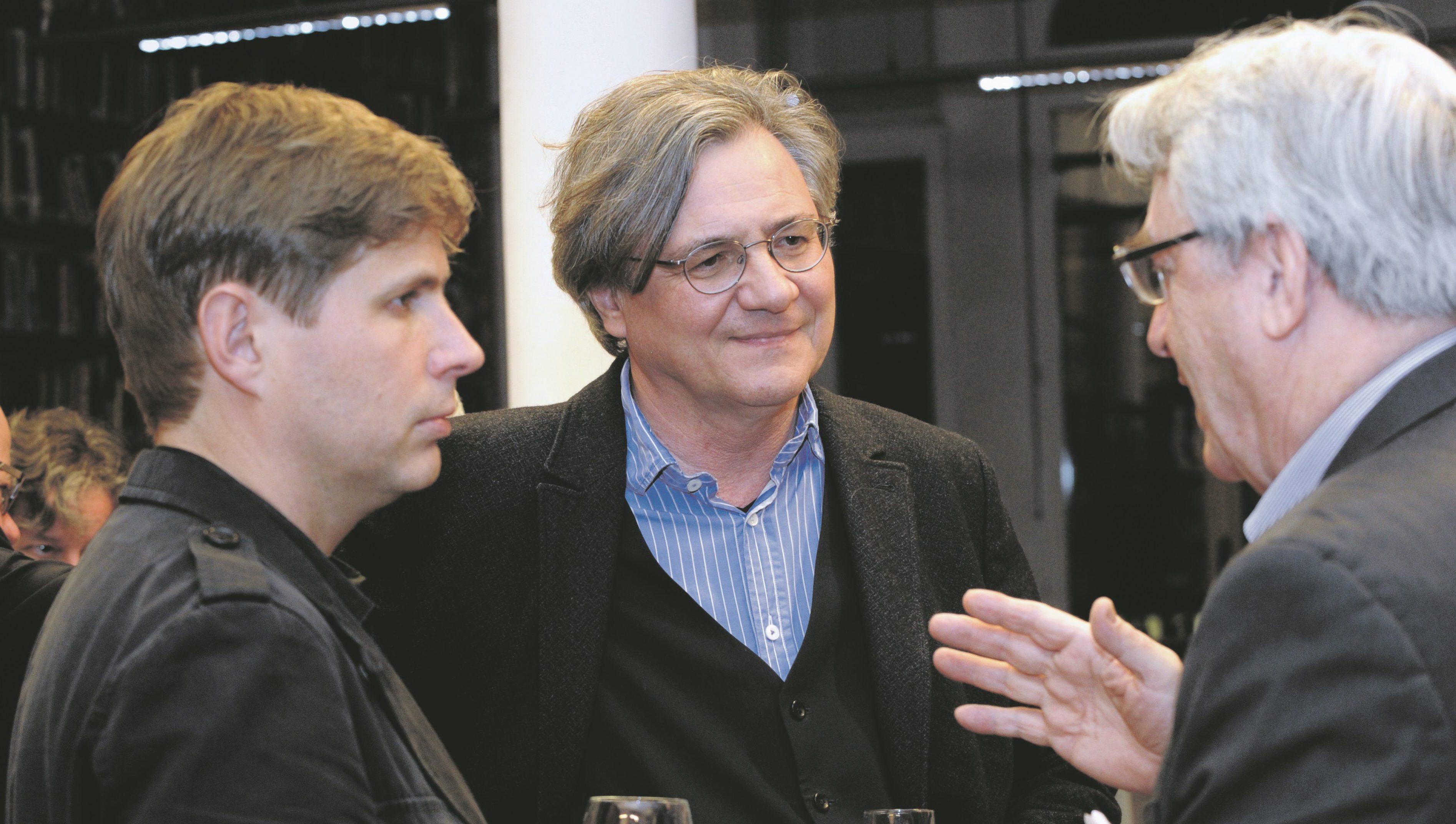 Daniel Kehlmann und Michael Maar in einer Diskussion mit dem Leiter des DAI Bild: F. Hentschel
