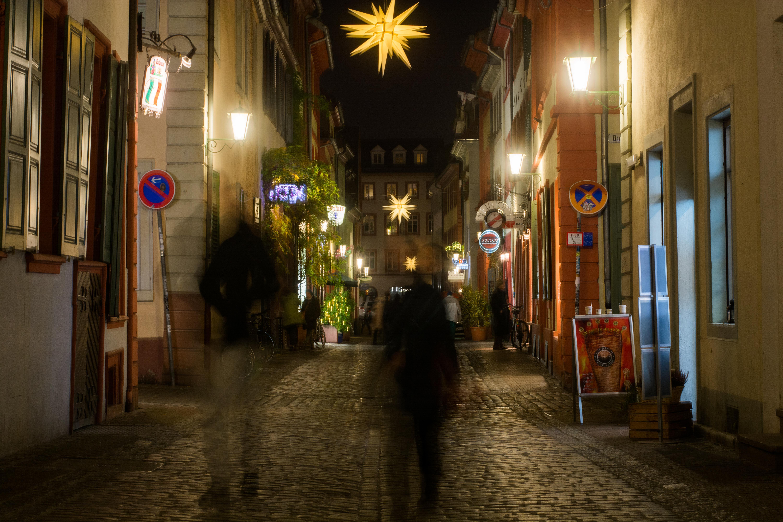 Hier pulsiert das Heidelberger Studentenleben: Reibereien sind in der Unteren keine Seltenheit. Foto: Philip Hiller