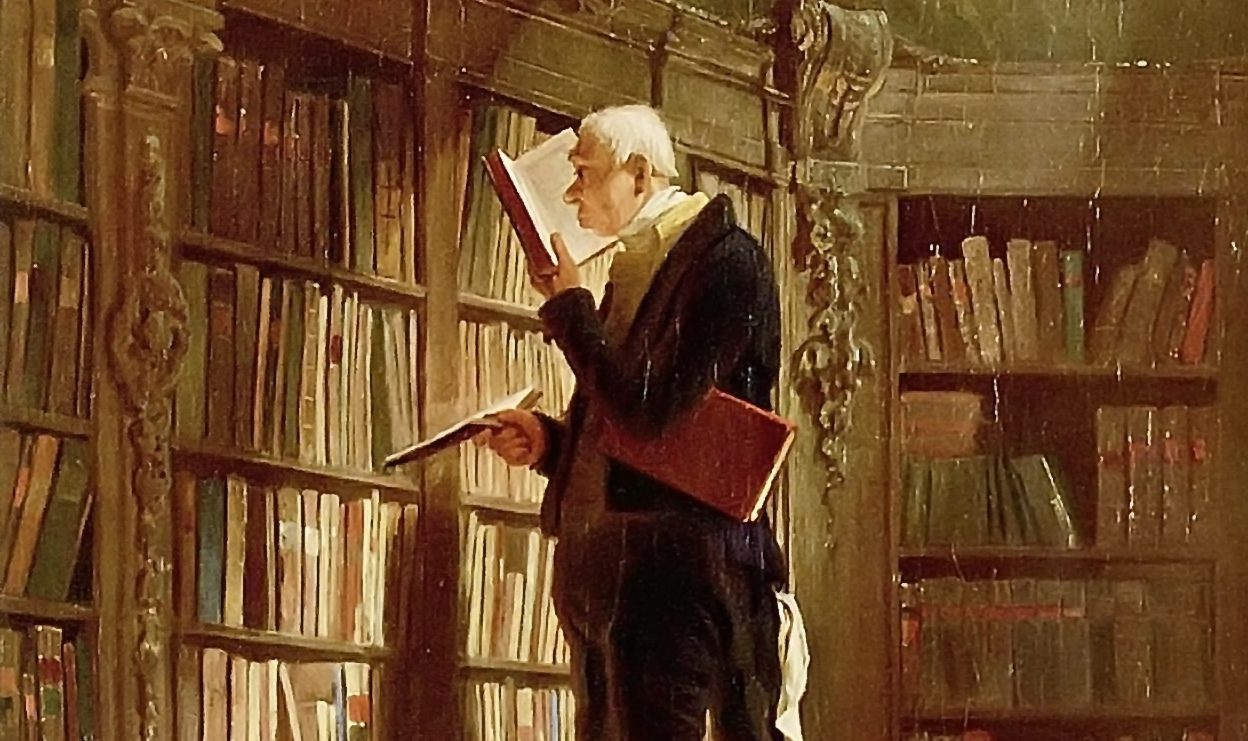 Carl Spitzweg [Public domain or Public domain], via Wikimedia Commons