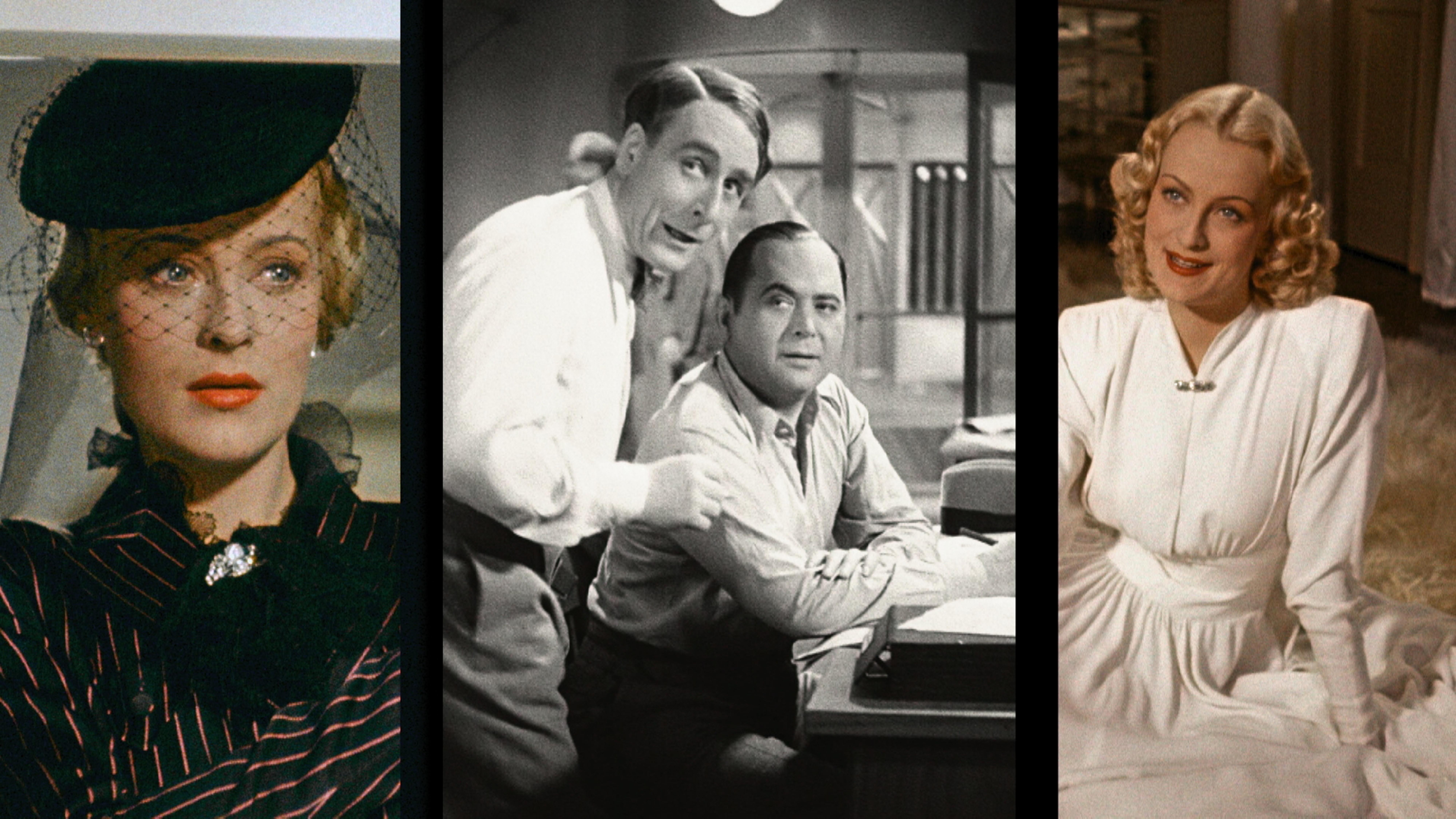 Sie gehörten zu den zahlreichen Stars des deutschen Kinos: Irene von Meyendorff, dazwischen Paul Kemp und Oskar Sima. Bild: farbfilm verleih