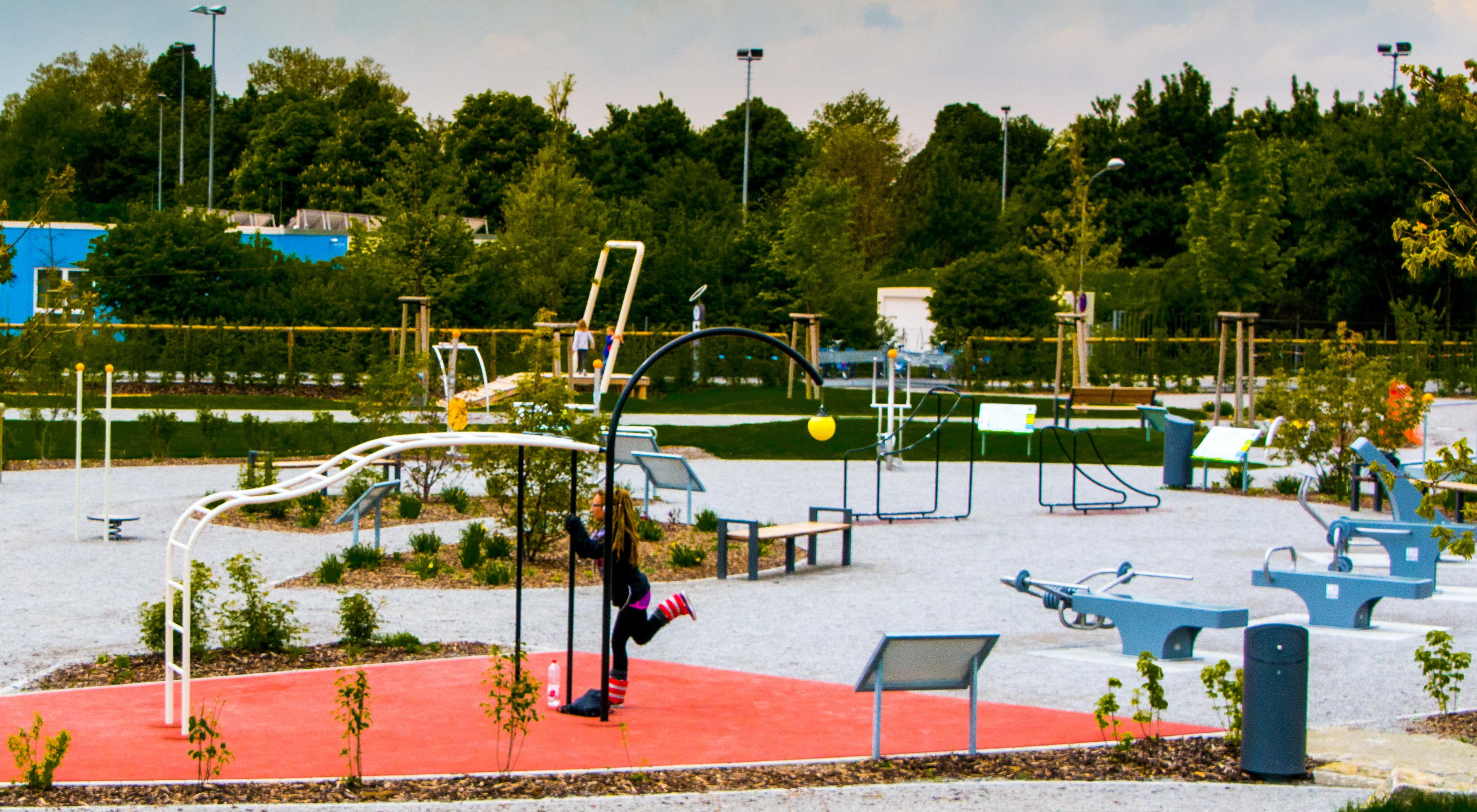 Alleine oder mit Freunden: Für Studierende bietet die Erlbeniswelt eine kostenlose Möglichkeit, Sport zu treiben. Foto: Philip Hiller