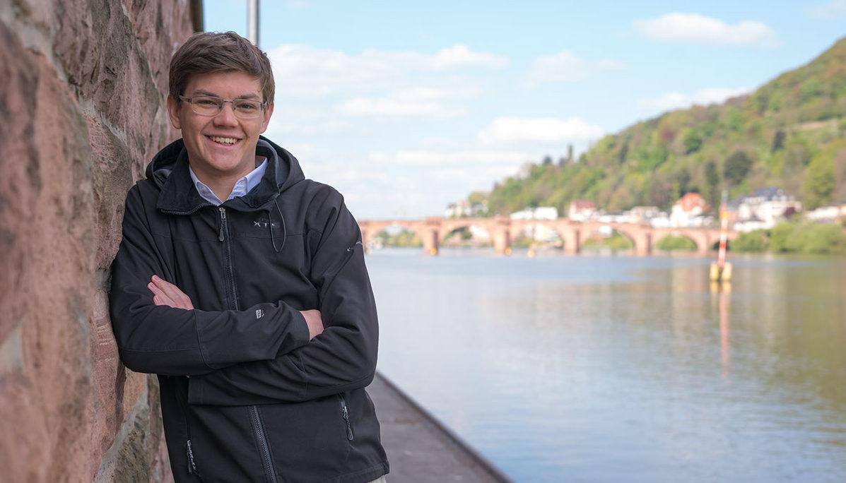 Dennis Nusser will im September für die FDP in den Bundestag einziehen. Bild: Johannes Zabel