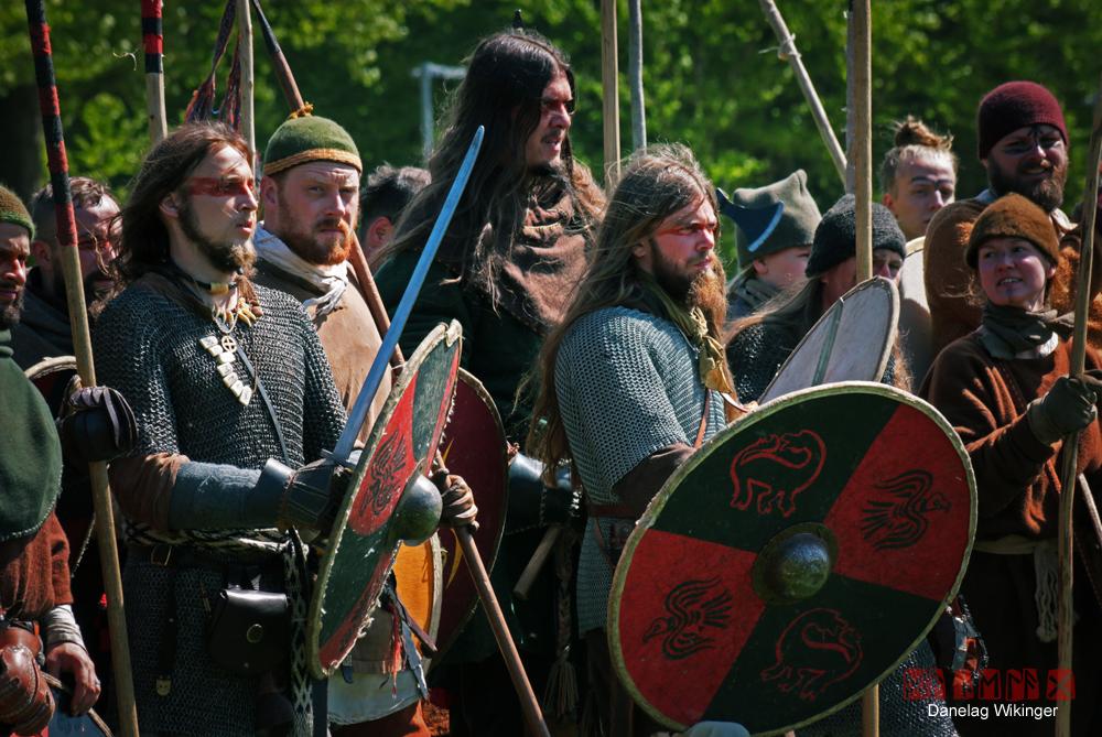 Reenactment ist die Darstellung einer historischen Epoche. Fotos: Danelag Wikinger
