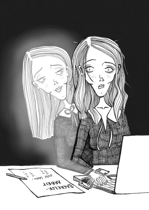 Text gegen Geld: Manche Studierende lassen ihre Hausarbeiten von einem akademischen Ghostwriter verfassen . Bild: Anais Kaluza
