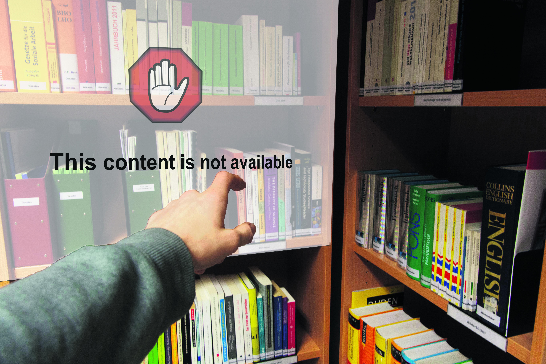 Noch sind viele Publikationen nur gegen Bezahlung verfügbar. Bild Philip Hiller