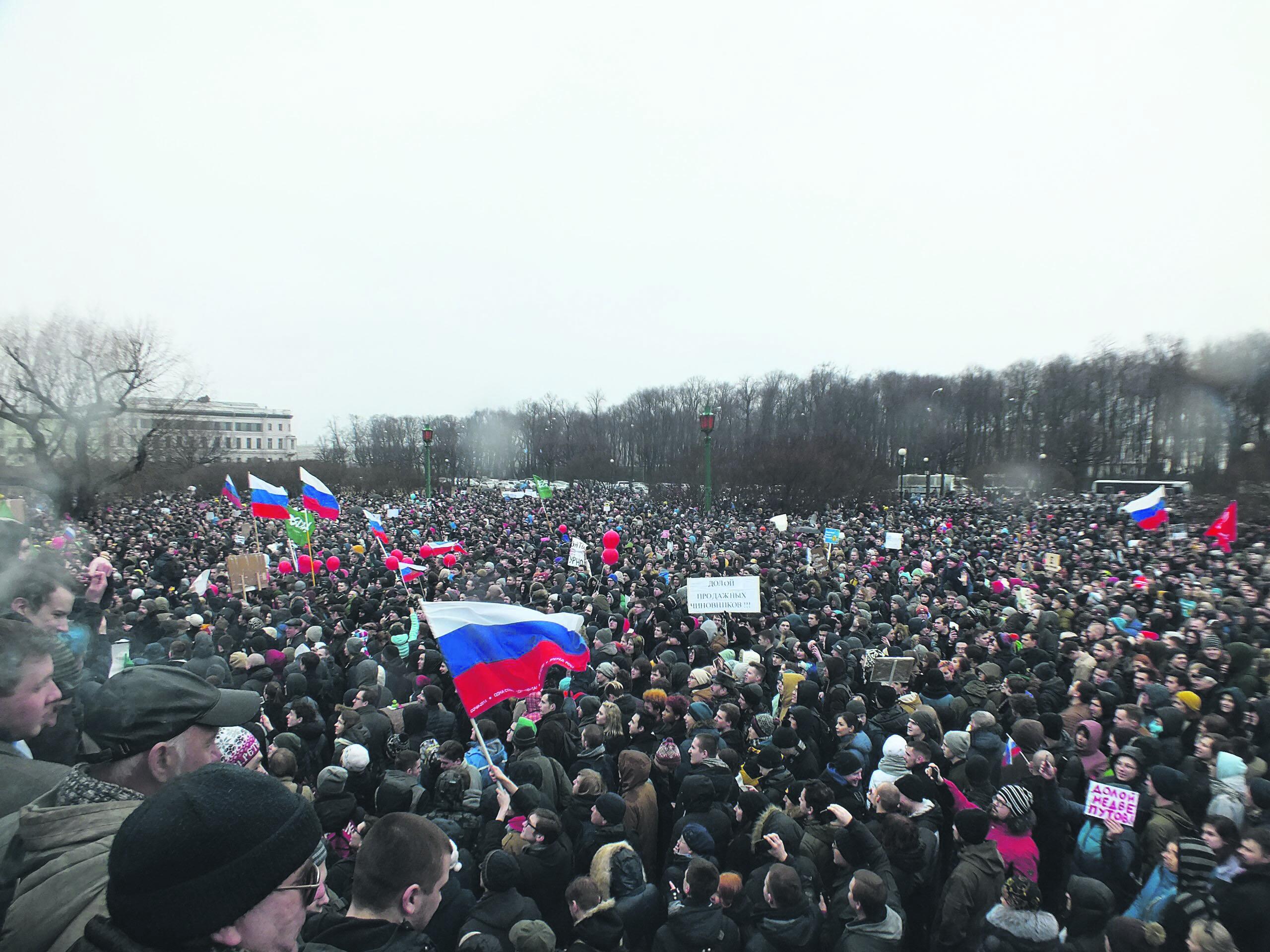 Das 18. Silvester unter Putin