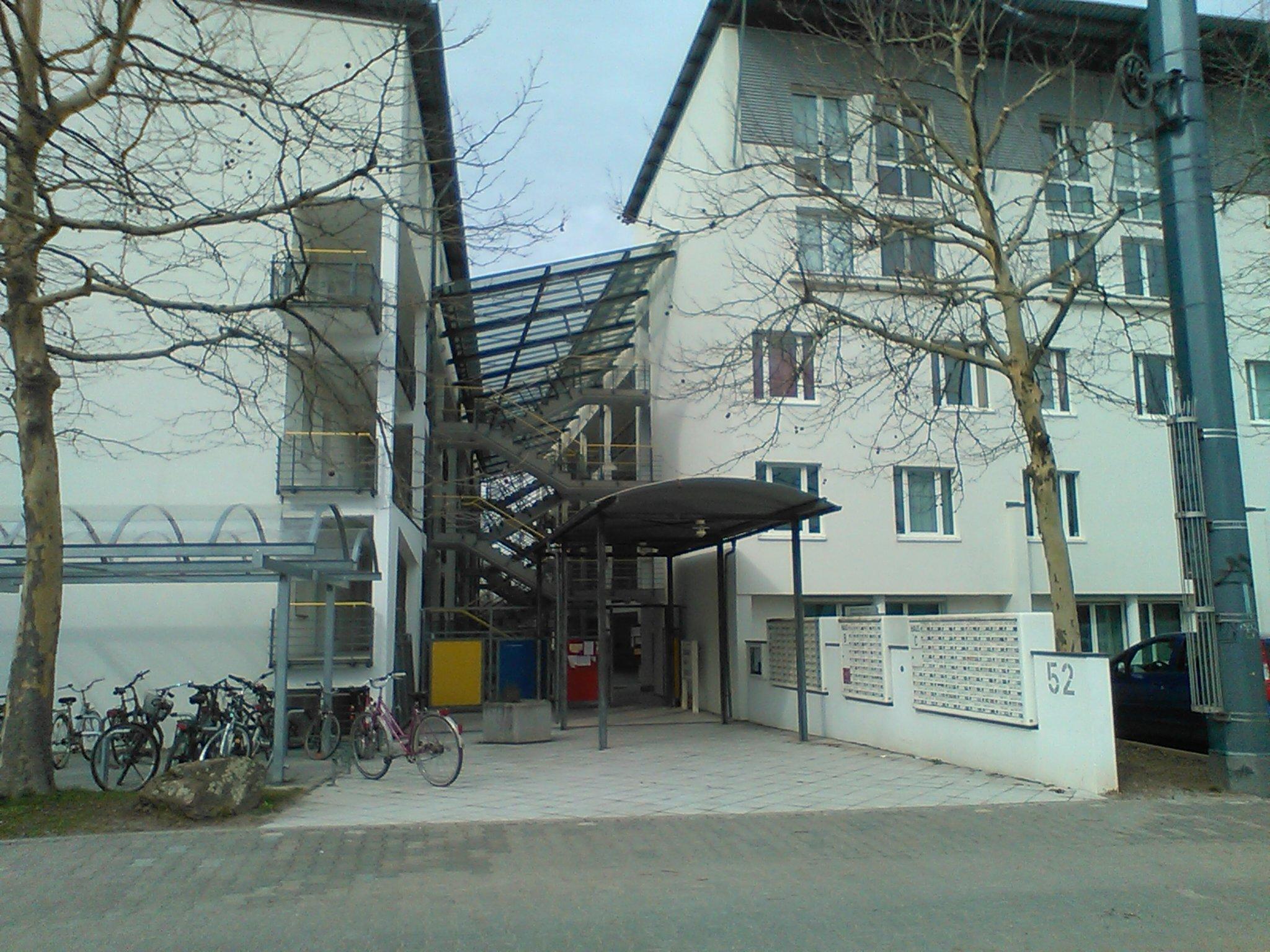 Studierendenwohnheim in der Eppelheimer Straße. Foto: Simon Koenigsdorff