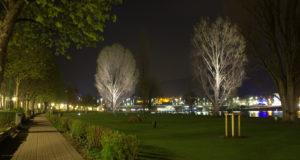 Schluss mit Sternenhimmel auf der Neckarwiese