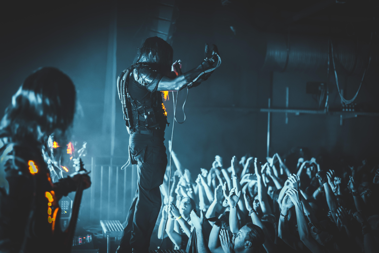 Cypecore bringt eine postapokalyptische Atmosphäre auf die Bühne. Foto: Alen Ljubic.