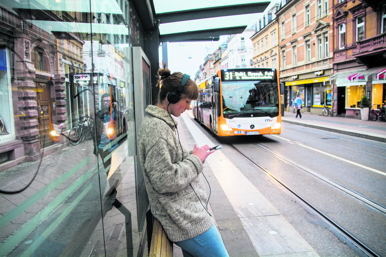 Mit Böhmermann im Bus