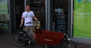 Umzug mit Fahrrad