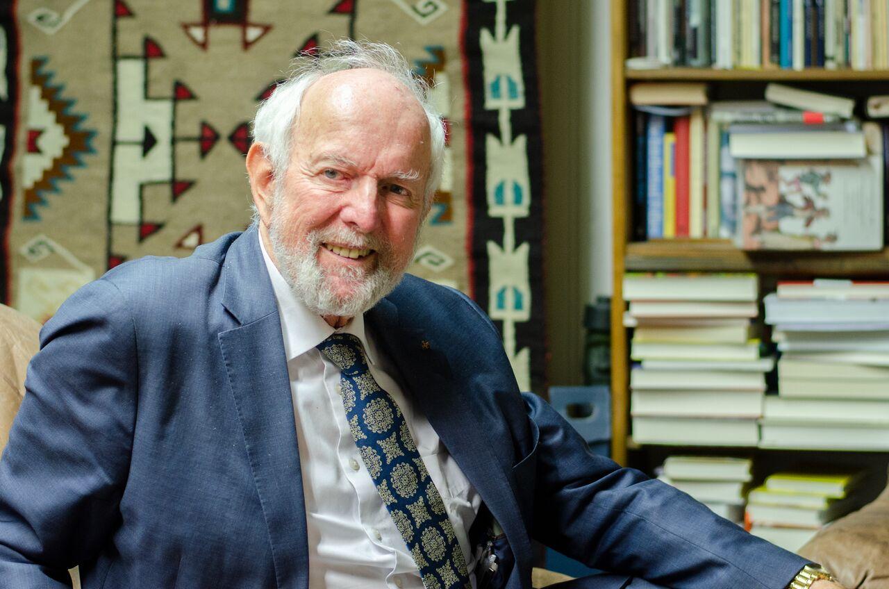 Der Ehrenpräsident des Club of Rome. Foto: Sarina Chamatova