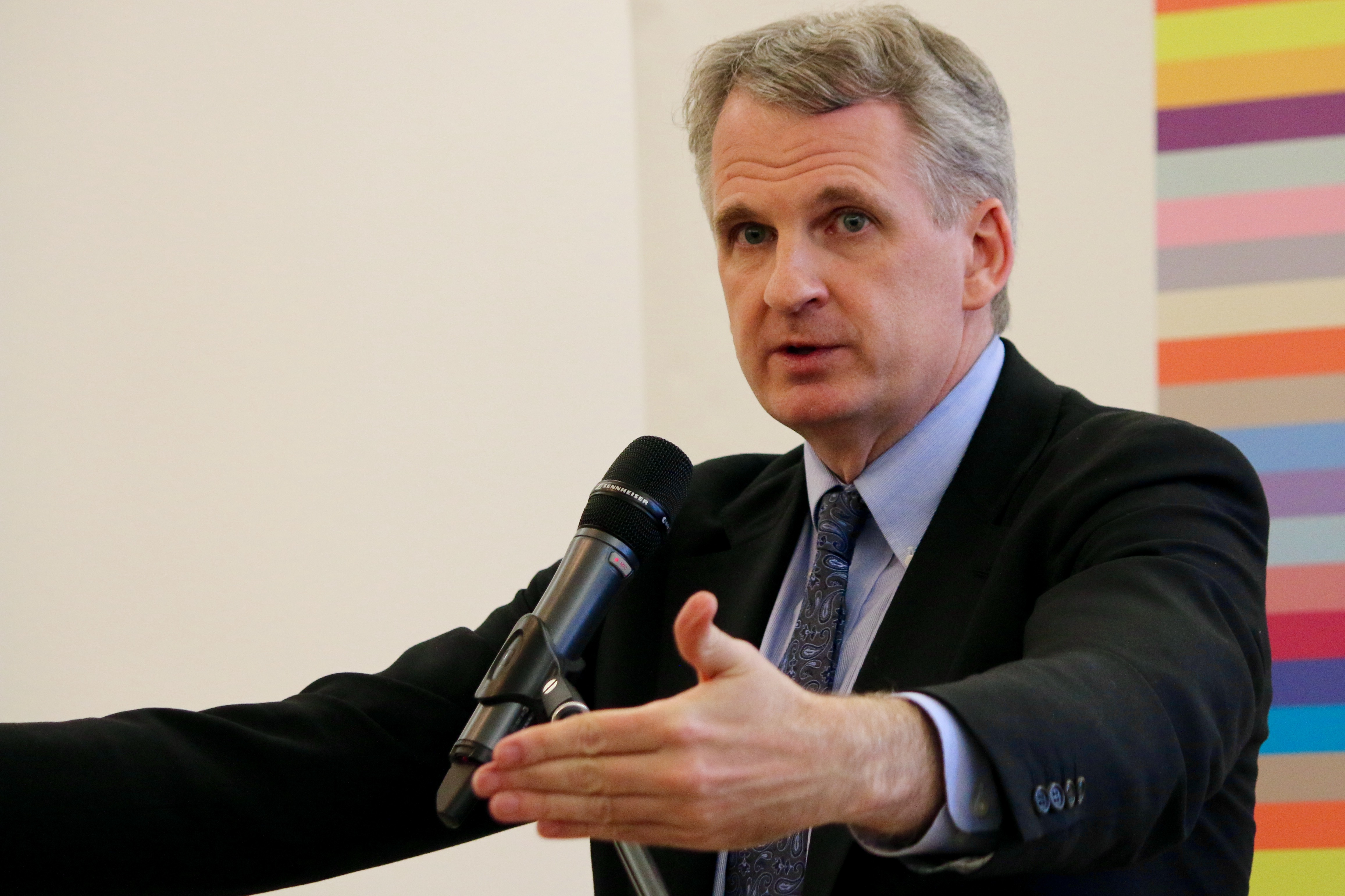 Timothy Snyder lehrt an der Yale University. Foto: Frauemacht [CC BY-SA 4.0 (https://creativecommons.org/licenses/by-sa/4.0)]