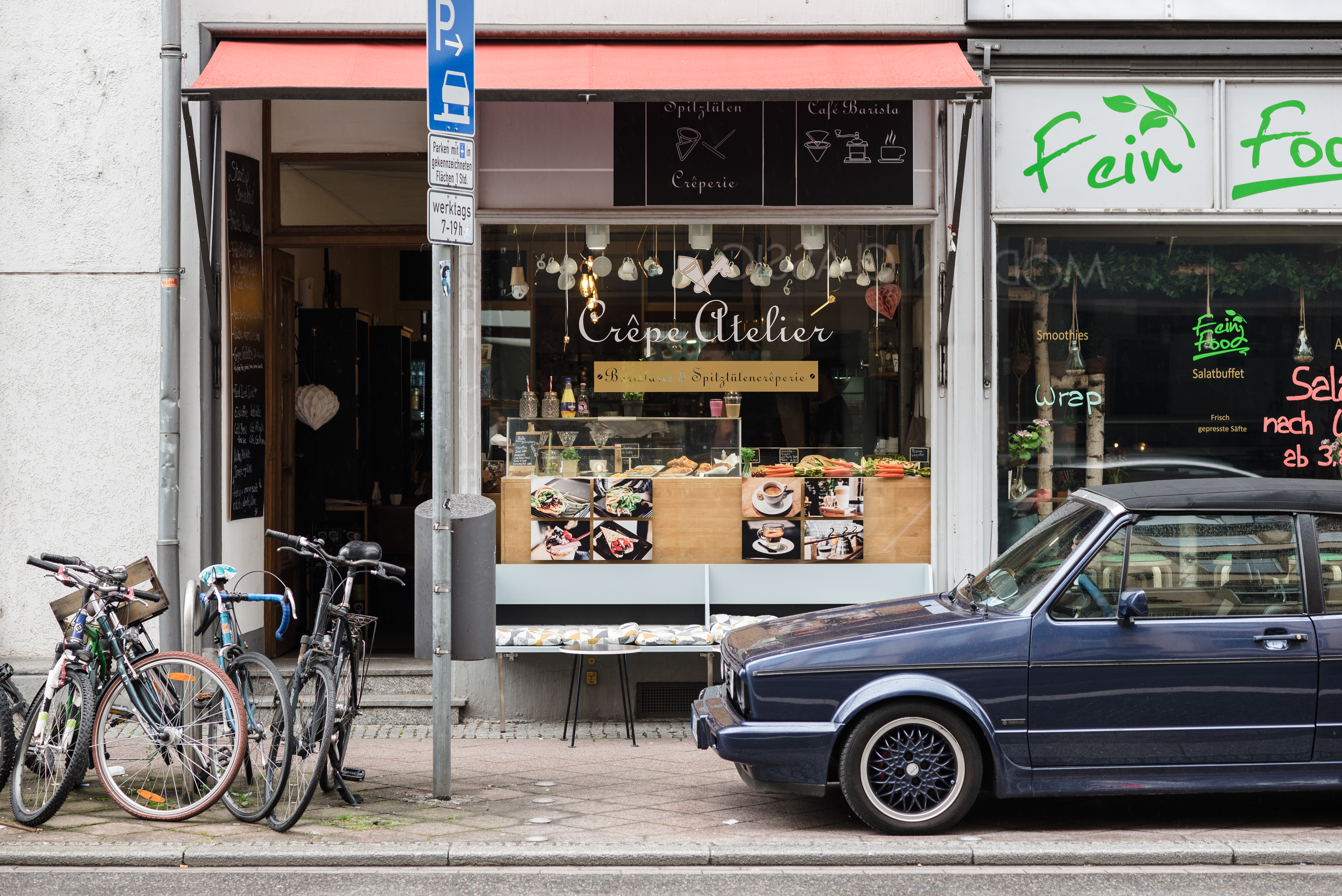 Von Außen fällt das Crêpe Atelier in Neuenheim kaum auf. Foto: Nicolas Nieblyski