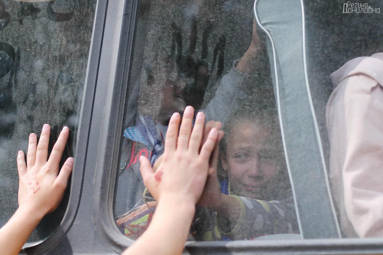 Die Kinder aus den Ferienlagern sind unserem Redakteur ans Herz gewachsen. Foto: Foto: Regina Danilovna Yamaletdinova