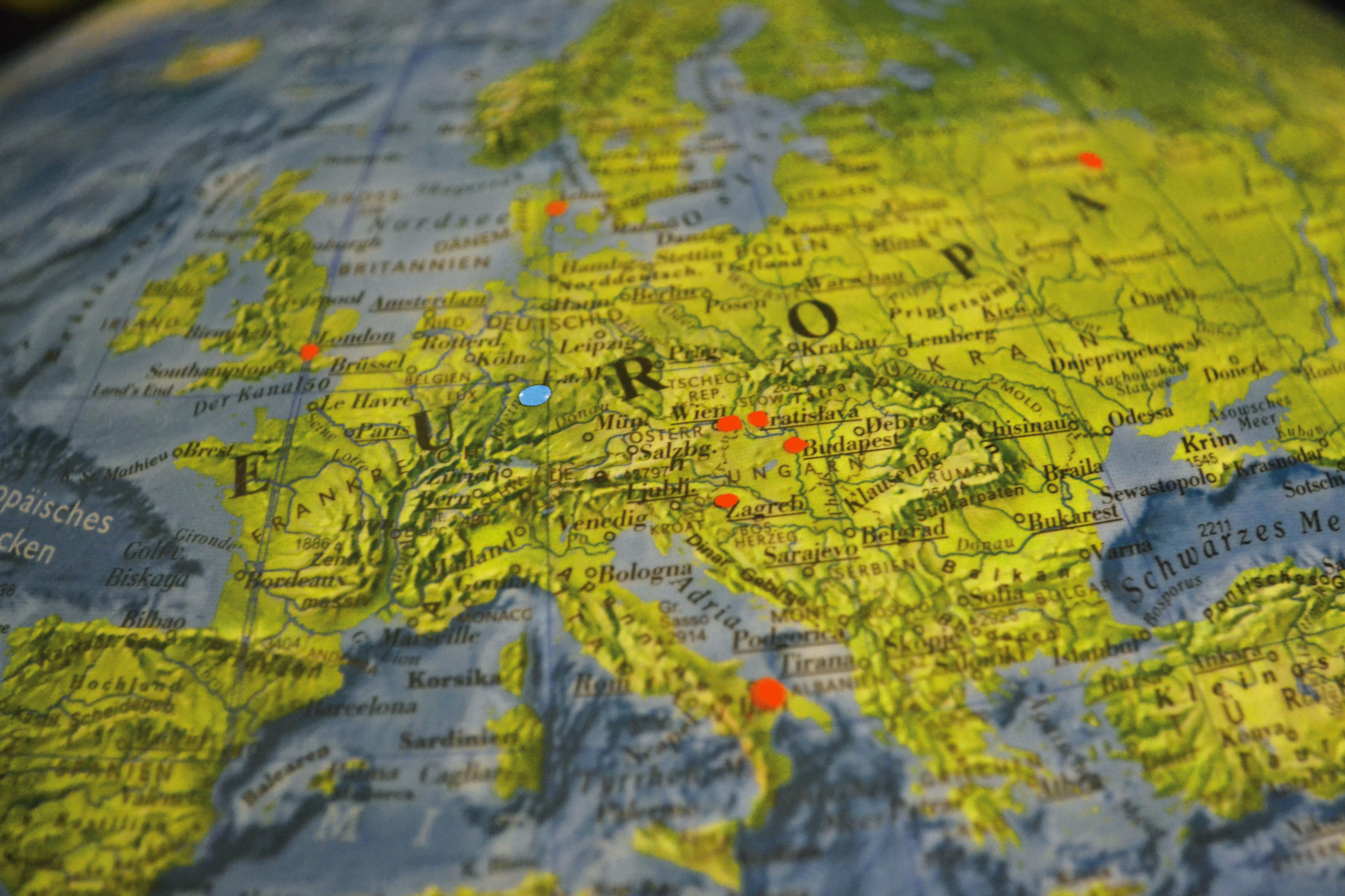 Quer durch Europa: Der Zug macht's möglich  Foto: Hannah Steckelberg