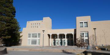 Das neue Fakultätsgebäude der Physik an der University of New Mexico. Foto: Vincent Enders