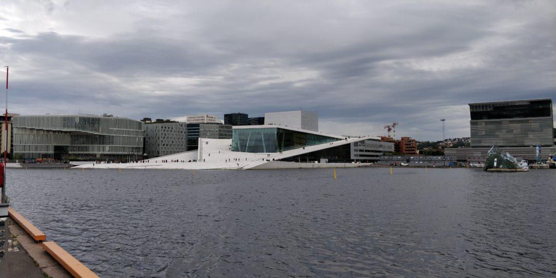 Das neue Osloer Opernhaus. Foto: Dorian Vester