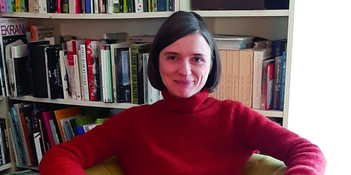 Karoline Thaidigsmann ist Literaturwissenschaftlerin und Fachstudienberaterin am Slavischen Institut. Foto: privat