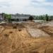 Hier haben die Bauarbeiten für das neue Wohnheim begonnen. Foto: Uli Hillenbrand