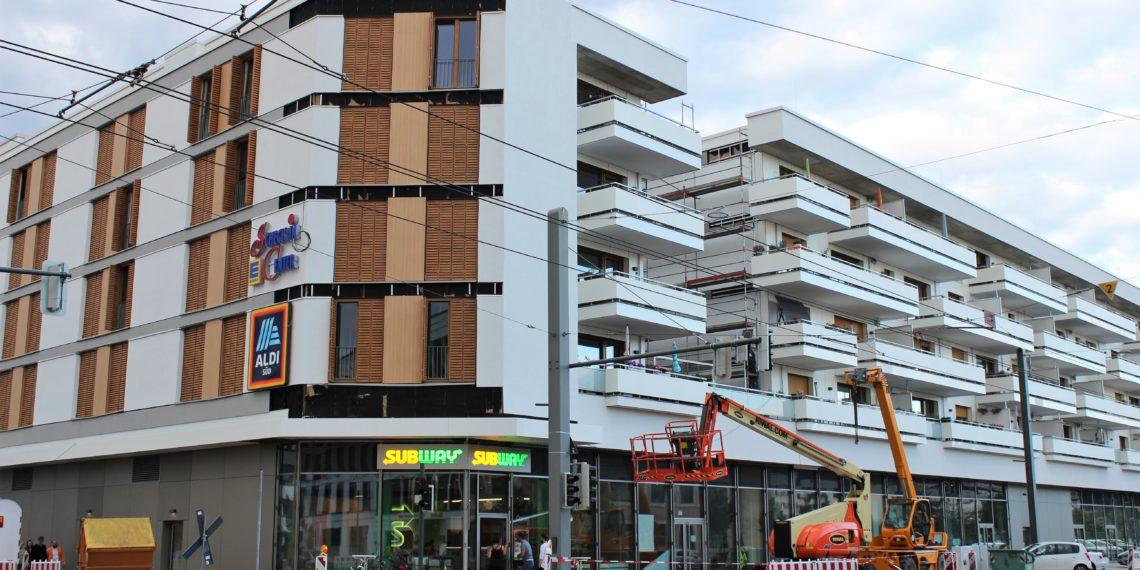 Am und um den Gadamerplatz gibt es viele kulinarische Angebote. Foto: Lara Stöckle