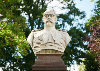 Kolonialist und  Reichskanzler Otto von Bismarck. Foto: Nicolaus Niebylski