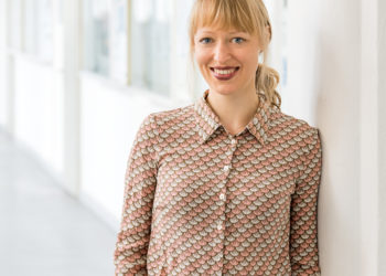Janina Steinert hat die Studie über häusliche Gewalt geleitet. Foto: Astrid Eckert,  TU München