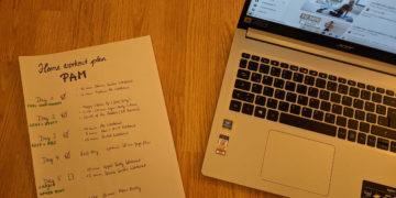 So sieht der Workout-Plan unserer Autorin aus. Foto: Sonja Polly