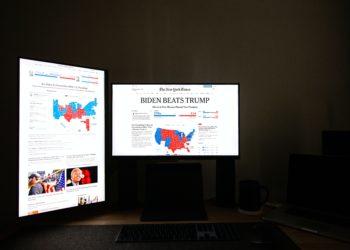 Gerade während der Tage der Wahl in den USA verfolgten viele Menschen die Medien intensiver als sonst (Foto: pexels)
