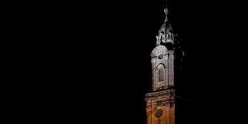 Auch die Jesuitenkirche darf man nach 20 Uhr nicht mehr bewundern. Foto: Philipp Rajwa