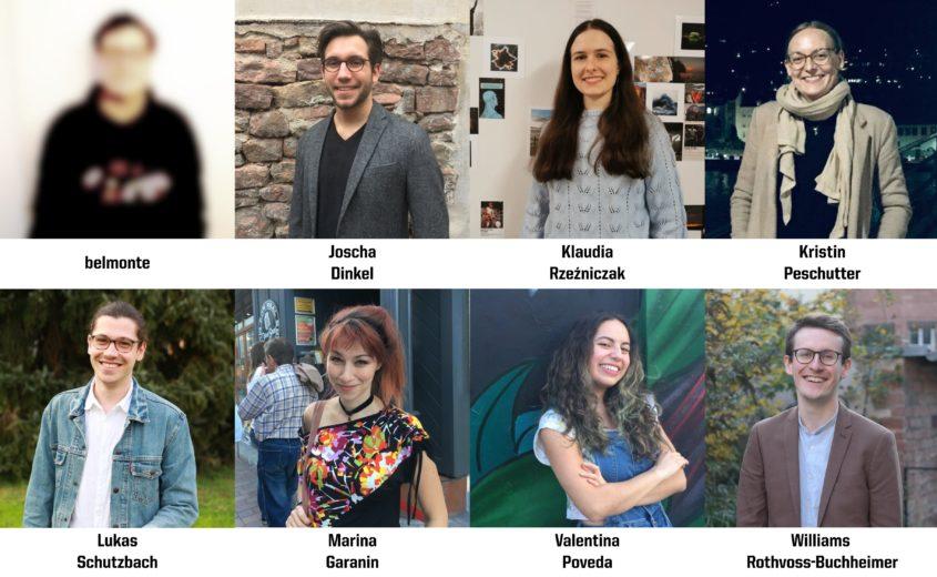 Die diesjährige Jury (Foto-Collage: Williams Rothvoss-Buchheimer)