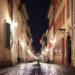In der Pandemie ist die Untere an einem Freitagabend still und leer. Foto: Nico Niebylski