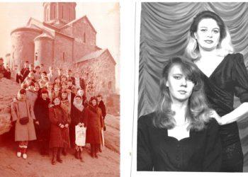 Der sowjetische Kleidungsstil der Mutter (1990) unserer russlanddeutschen Autorin ist wieder im Trend. Foto: Xenia Miller.