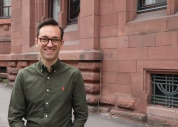 Benjamin Brandstetter hat neben seinem Master noch Zeit, für den Landtag zu kandidieren. Foto: privat